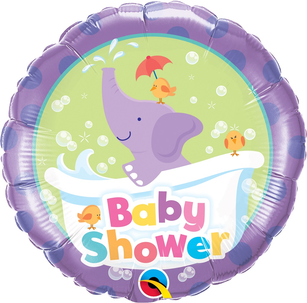 balon foliowy 18 słoń baby shower