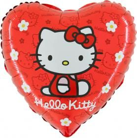 balon foliowy 18 hello kitty